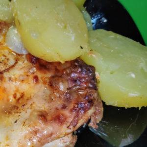 asado de pollo blw
