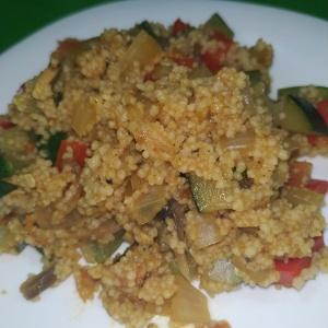 Cuscús con verduras BLW