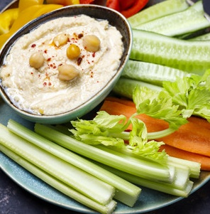Hummus de garbanzos BLW