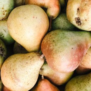 recetas BLW con pera